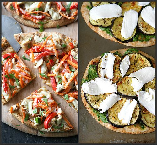 Cookin' Canuck – BLT Naan Pizza Recipe with Bacon, Arugula & Tomato
