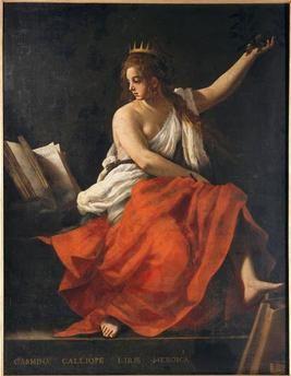 Calliope Baglione Giovanni (1571-1644 )Arras, musée des Beaux-Arts