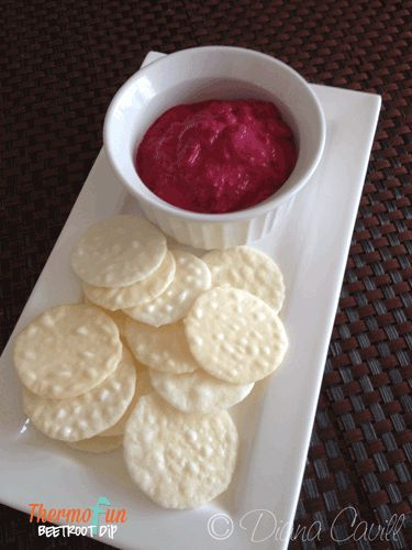 ThermoFun – Beetroot and Cashew Dip Recipe