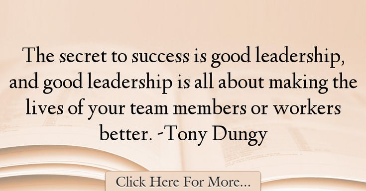 Tony Dungy Quotes About Good - 29372