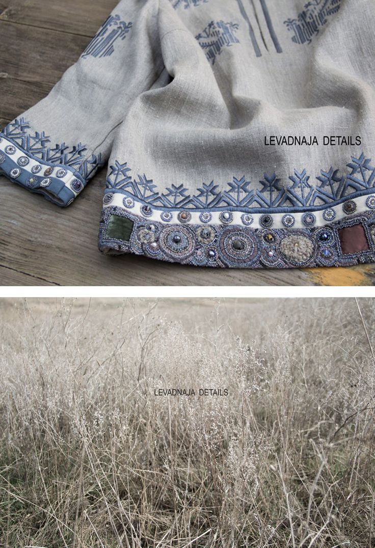 Linen luxurious blouse. Soft Summer colours #SoftSummer #levadnajadetails #russian #style #русскийстиль