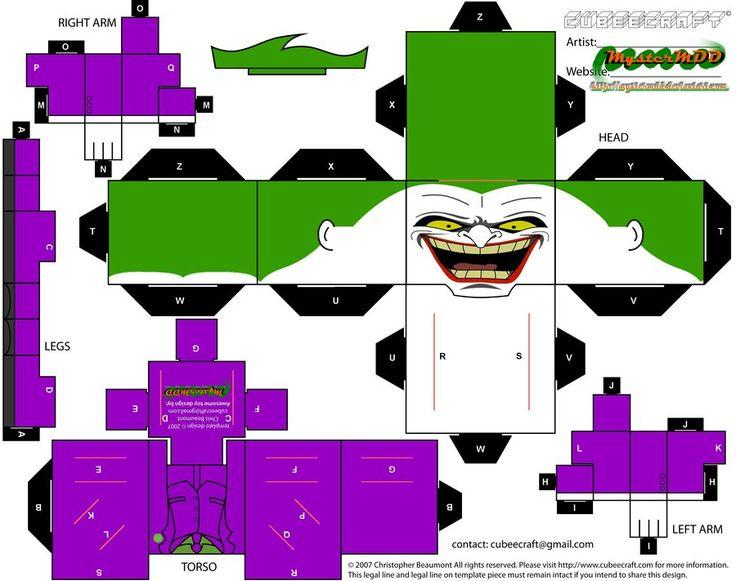 Joker cubee (update) by MysterMDD on deviantART