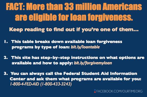 Student Loan Forgiveness- incredibly helpful for some...just not for me.