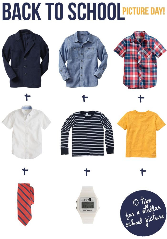 Picture Day outfits for boys!