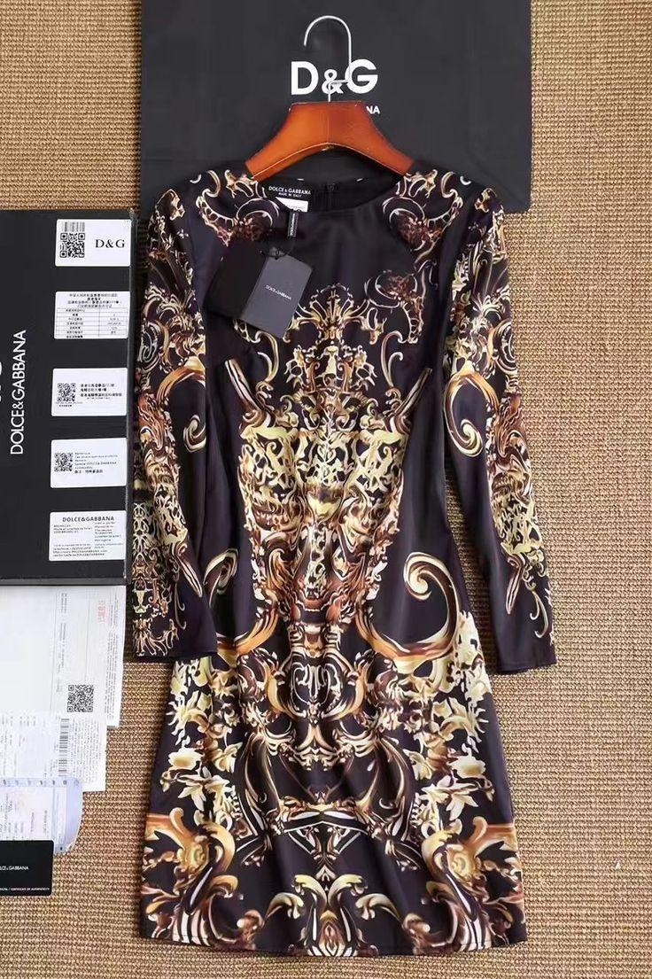 👧Черное коктейльное платье Dolce Gabbana Модный новый принт 2017. Размер S M L Цена 4500 руб/75$