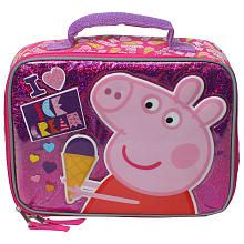 Nick Jr. Peppa Pig I Love Ice Cream Insulated Lunch Box