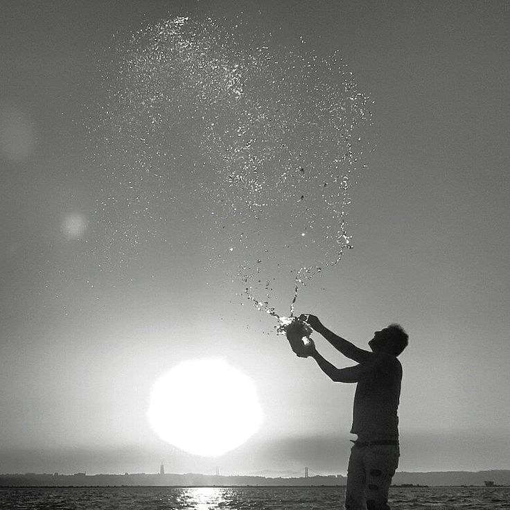 Hope , Water in air , open air.... #hope #art