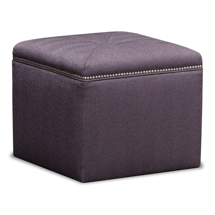 Ritz upholstery cube ottoman value city furniture