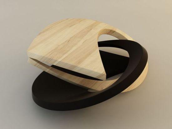 futuristic coffee tables 2012   california bungalow.   pinterest