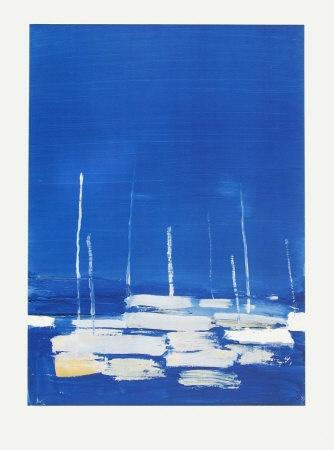 Sailboats at Antibes - Nicolas de Stael