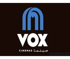 I'm offering VOX movie tickets on discounted price