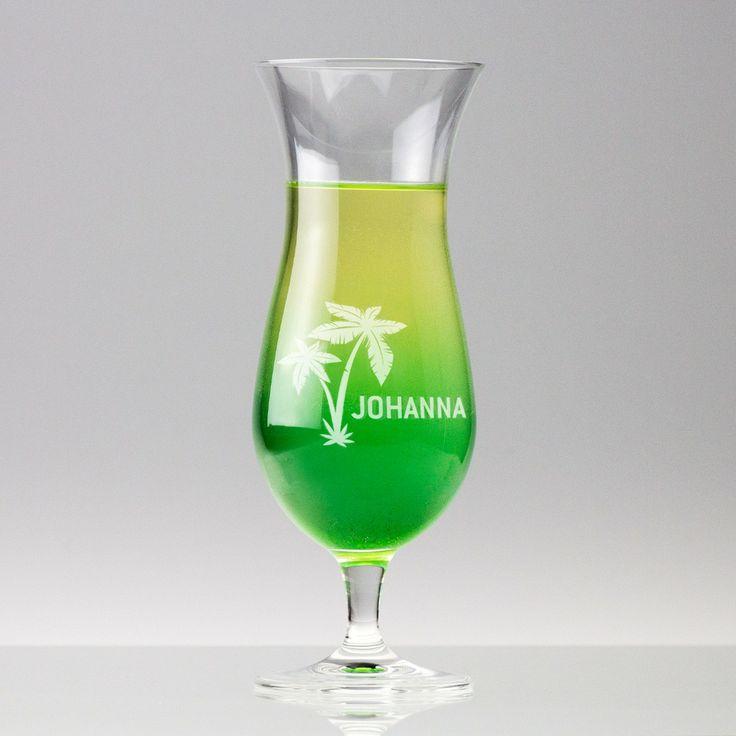 Hurricane Cocktailglas mit Gravur - Geschenke von Geschenkidee