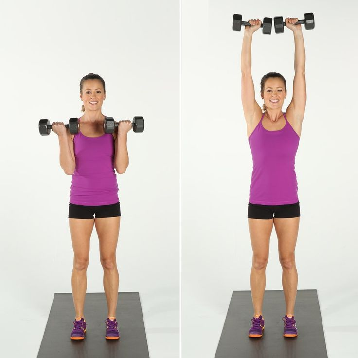 Bicep Curl and Overhead Press