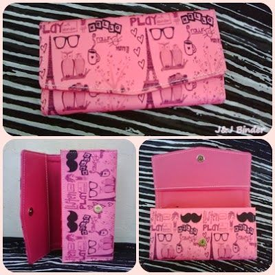 Nama  Produk : Dompet Paris Kumis Pink Harga : 50rb Ukuran   : 20cmx35cm Bahan : Kulit Sintetis Bentuk Dompet : Lipat 3 ,1 slot foto, 3 slot card