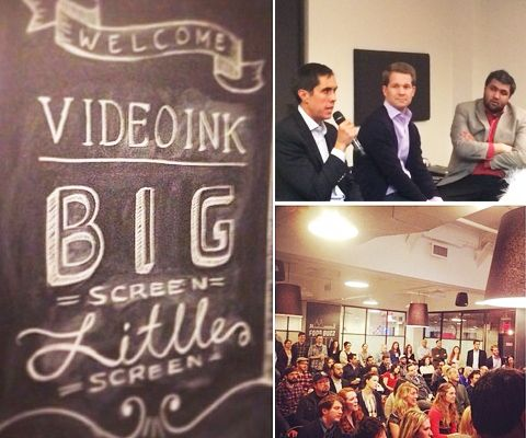 Recap! VideoInk Presents: Decoding the Digital Distribution Equation with BigScreen LittleScreen, Vimeo, Dailymotion USA and Magnet Media in the house! Check out all the recap deets here http://bit.ly/1mFtSyo