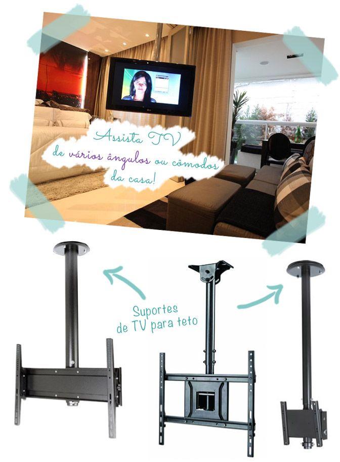 TV na parede: acabe com o problema dos fios aparentes! | Comprando Meu Apê | Comprando Meu Apê