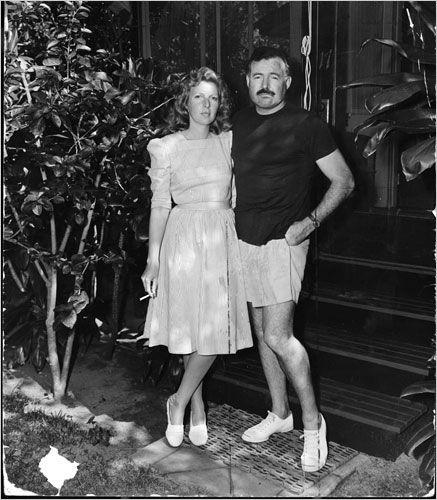 Martha Gelhorn & Ernest Hemingway