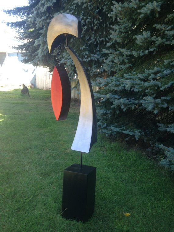 Abstract Free standing Sculpture by Holly Lentz by onlyart76