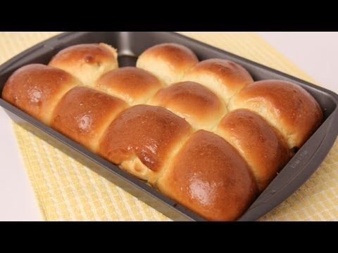 Dinner Rolls Recipe - Laura in the Kitchen - Internet Cooking Show Starring Laura Vitale