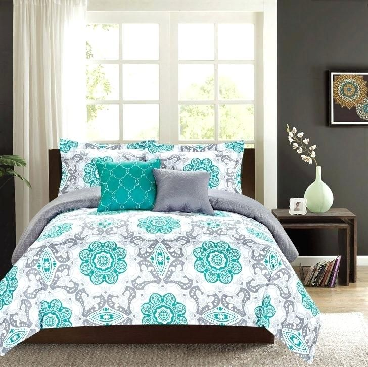 Turquoise And Gray Bedspread Bedding Turquoise Bed Green And Gray Bedding Coral Pink And Green And White Bedroom Bed Linens Luxury Minimalist Bedroom Furniture