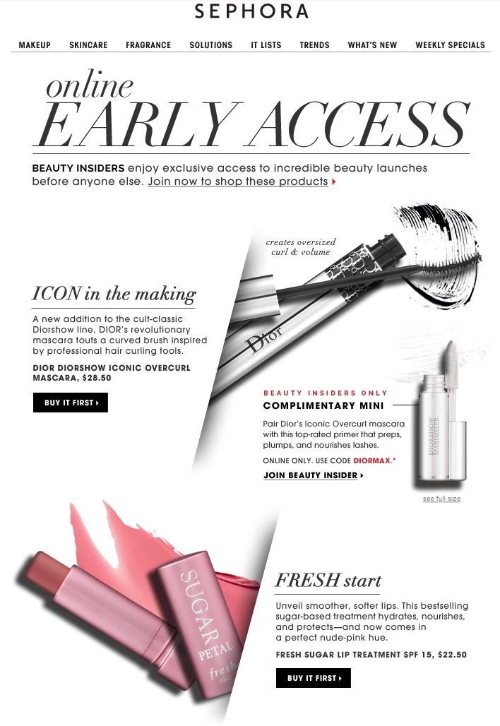 beautybay newsletter