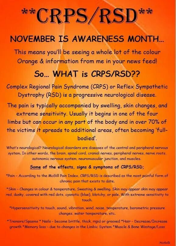 Orange + November = Awareness Month