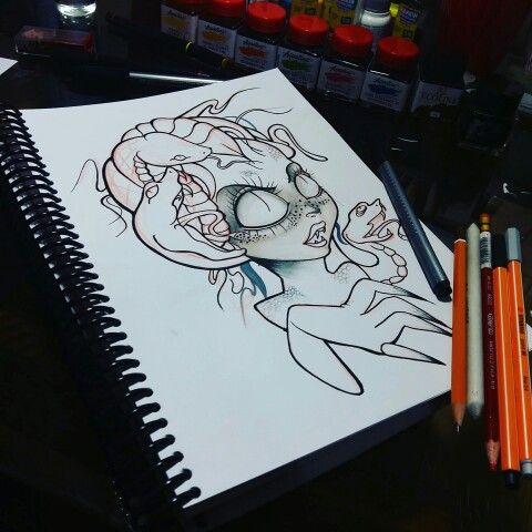 Medusa draw new school