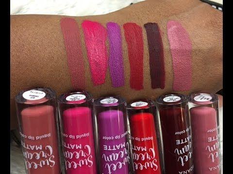 Jordana Sweet Cream Matte Liquid Lip Color #thepaintedlipsproject