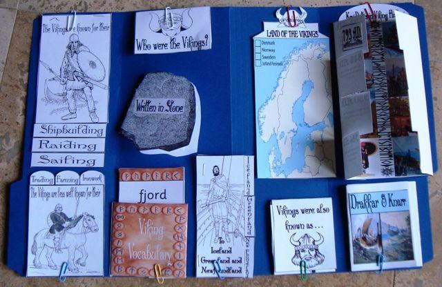 viking lapbooks