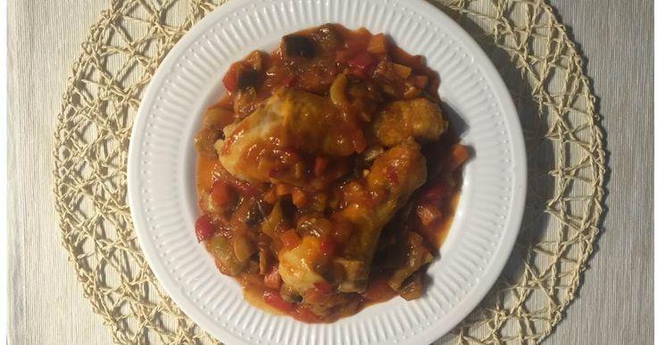 """""""Cocina con Cookeo"""": Pollo con pisto"""