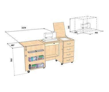 Стол швейный Комфорт-2