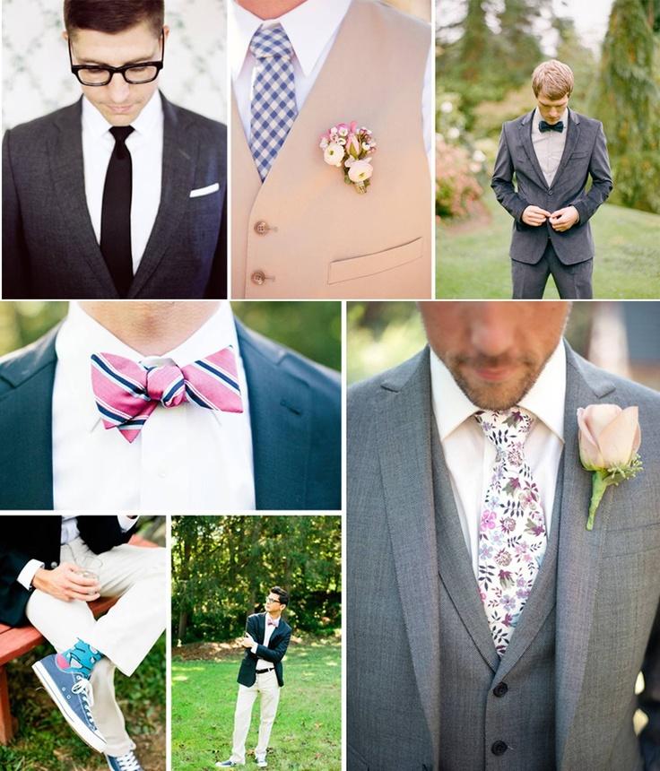 Você pode até achar que não existem muitas opções para o #noivo, além do clássico terno ou o fraque. Mas dá para adaptar a roupa ao horário e ao grau de formalidade da cerimônia, criando trajes super estilosos. Inspire-se! #Mêsdasnoivas #Casamento #quemcasaquercasa