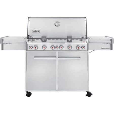Weber Summit S 670 Gas Grill Silver Gas Grill Natural Gas Grill Gas Bbq