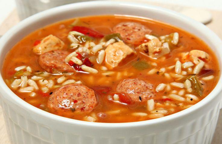 Slow Cooker Easy Chicken Gumbo Recipe via @SparkPeople