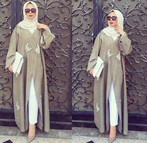 stylé, hijab, and abaya image