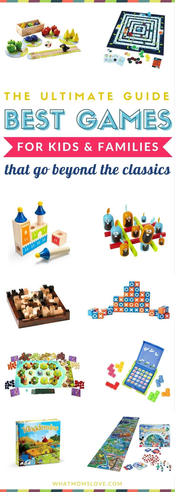 Epic guide to the best board games for kids - including best first games for toddlers, best single player games, & the best games for family game night.