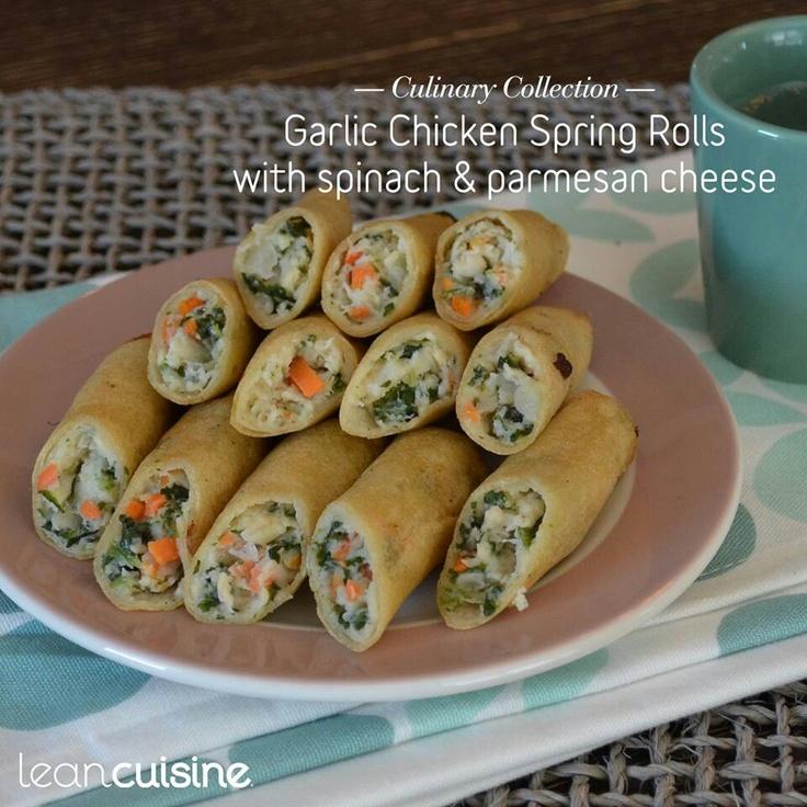 Garlic Spring Rolls | Appetizers | Pinterest