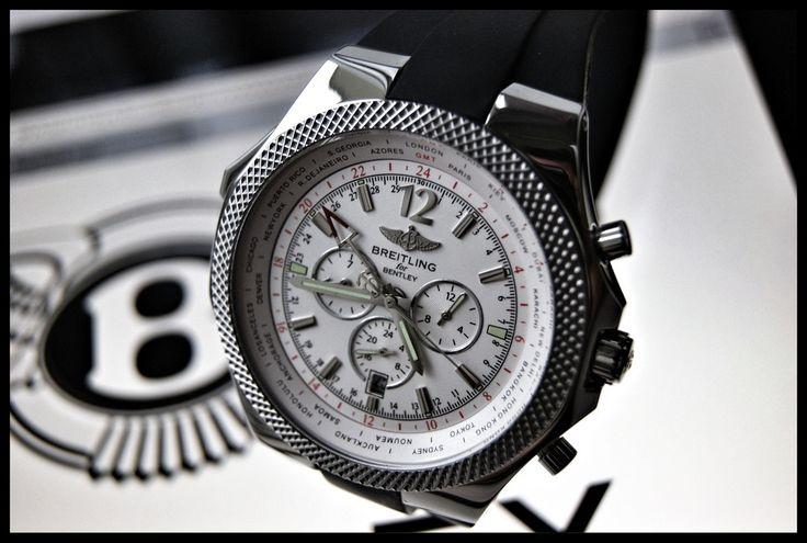 Breitling for Bentley GMT - #breitling #superocean #aeromarine #watch #chronograph #menswatch #bestwatch
