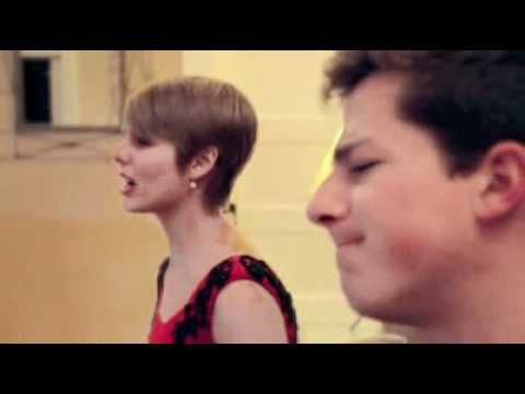 Emily Luther and Charlie Puth!   Their harmony and the power given to this song of Adele's is so amazing!!  Holy cow this as OUTSTANDING!!