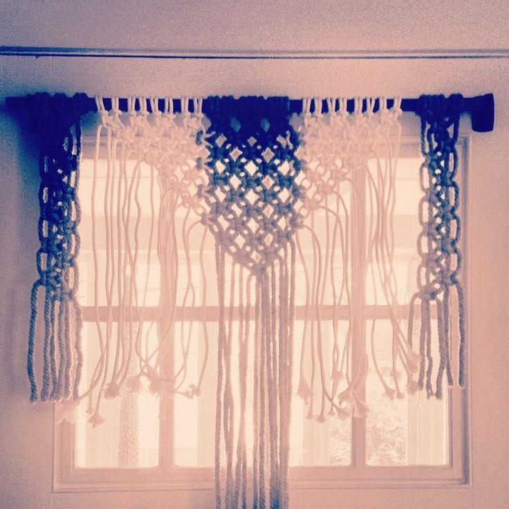 Macrame curtain. For Sale. $40