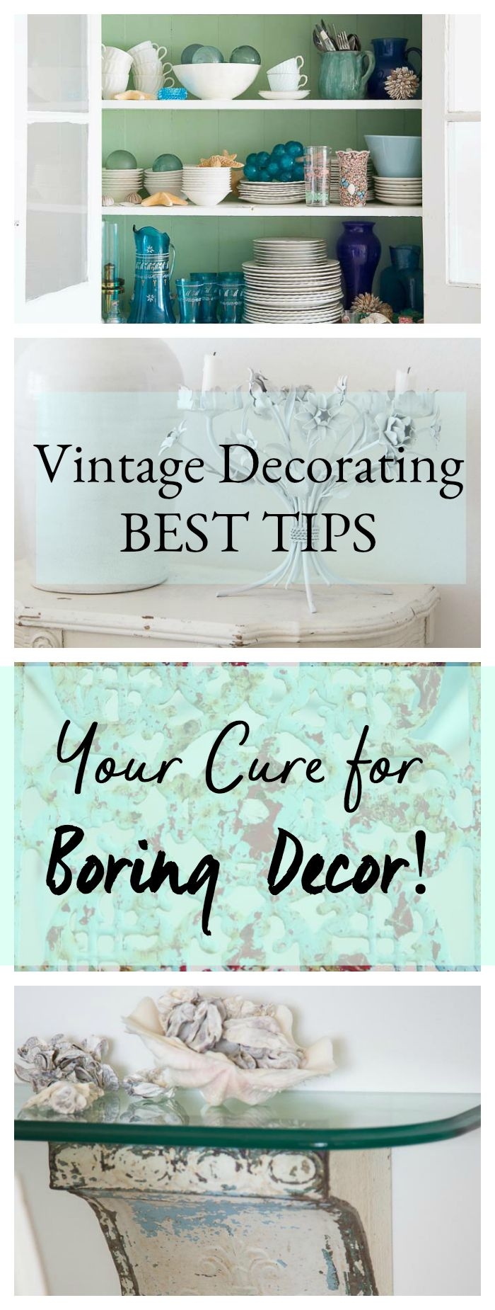 How to decorate your home with vintage lighting, vintage furniture and repurpose vintage pieces for a modern eclectic look in your home...shabbyfufublog.com  #vintagedecor #interiordecorating #vintage