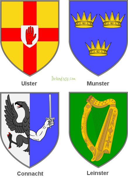 Four Counties of Ireland