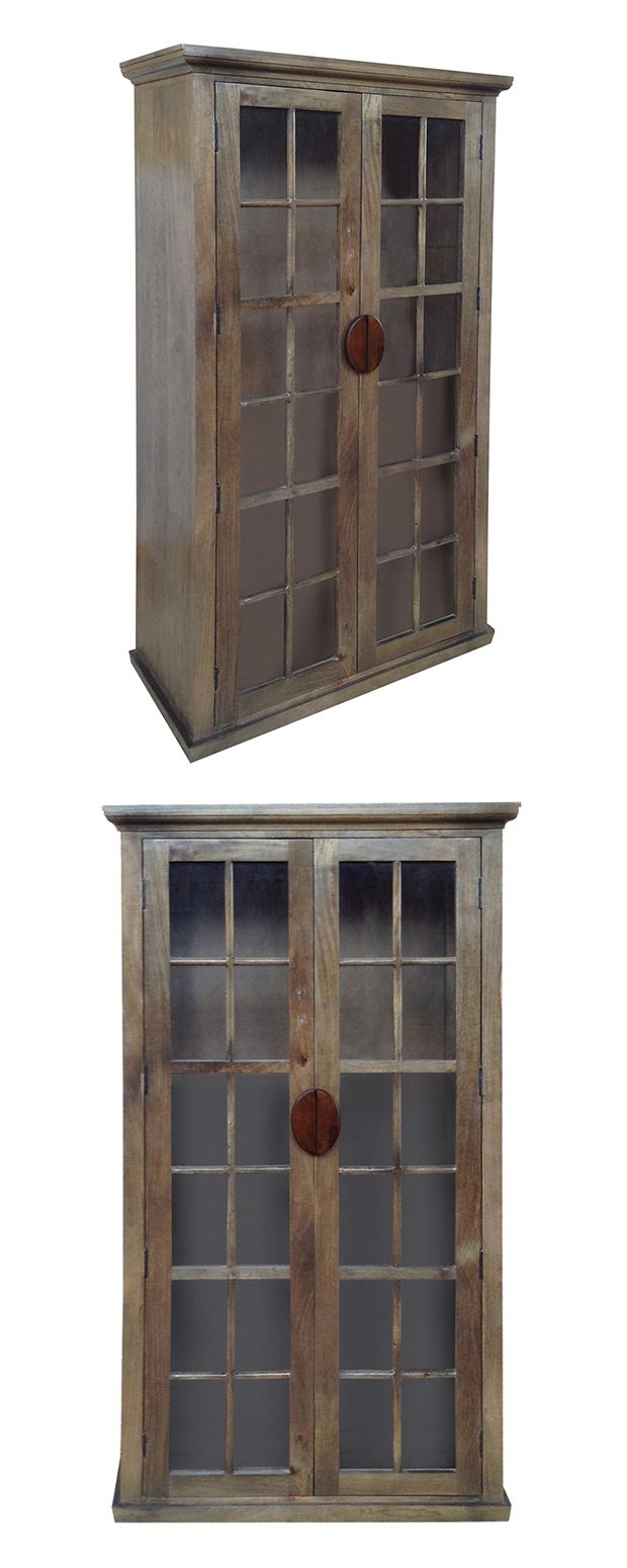 Handsomely antiqued, this charcoal-finished Gilligan Cabinet will prove a pleasing addition to your transitional living room or dining room. Made with solid mango wood framing and gorgeous glass paneli... Find the Gilligan Cabinet, as seen in the Cabinets Collection at http://dotandbo.com/category/furniture/bookcases-and-cabinets/cabinets?utm_source=pinterest&utm_medium=organic&db_sku=115883