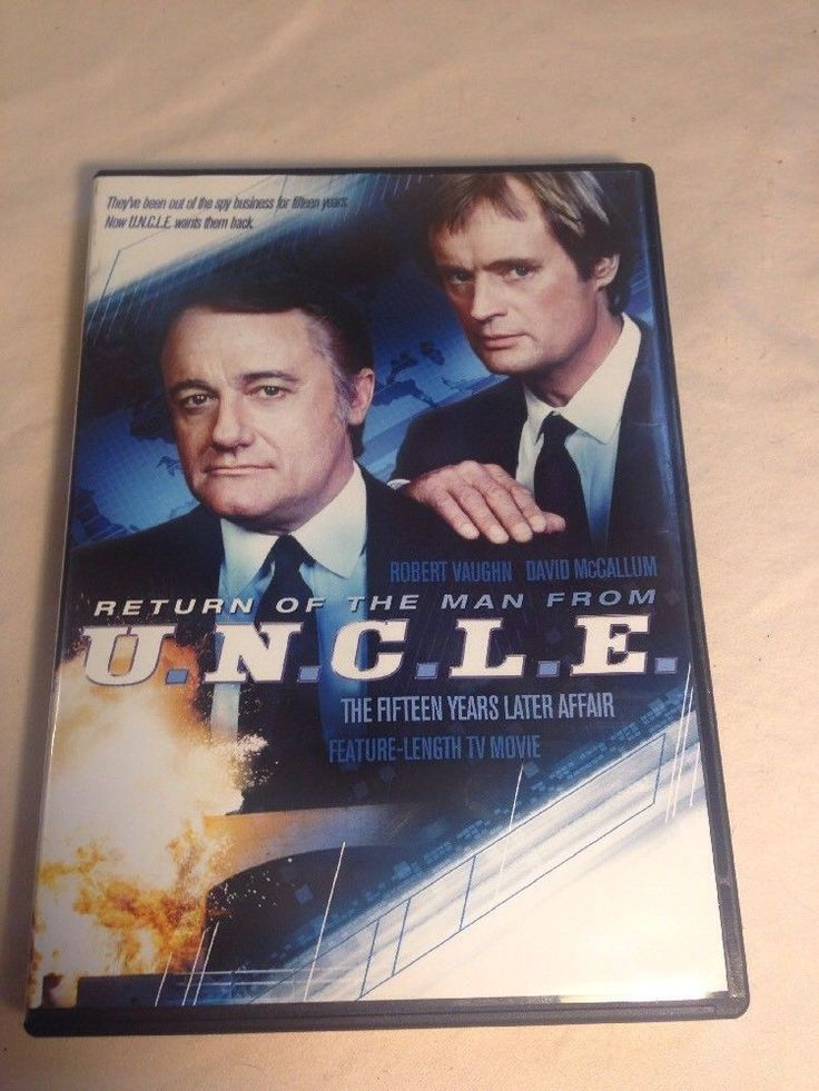 MAN FROM U.N.C.L.E.-RETURN OF THE MAN FROM UNCLE  DVD