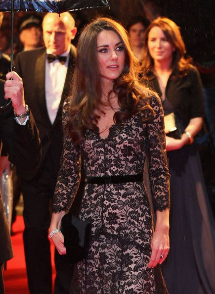 Catherine, Duchess of Cambridge attends the UK premiere of War Horse at Odeon Leicester Square on January 8, 2012 in London.