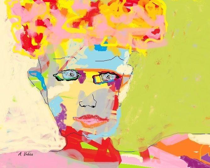Fête de la femme Peinture numérique Aube VRBICA 2016