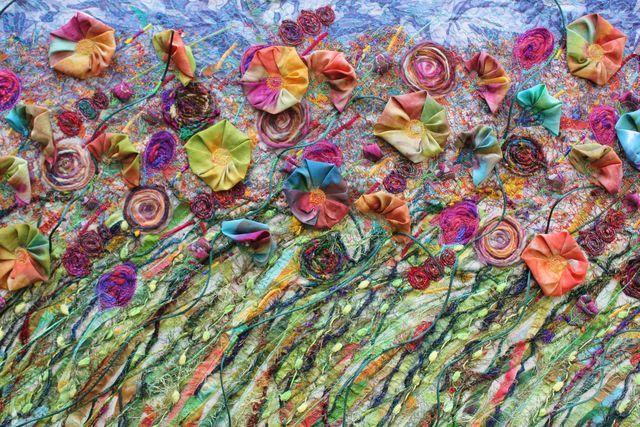 Beautiful work by Michelle Mischkulnig (Chelle Textiles)