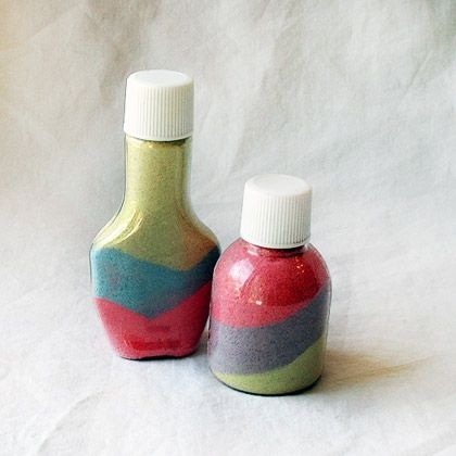 Sand-Filled Bottles