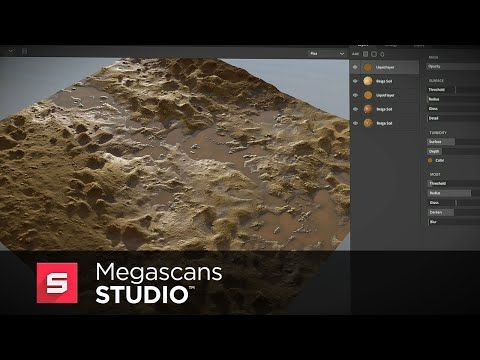 Creating Photorealistic Surfaces With MegaScans Studio - Lesterbanks