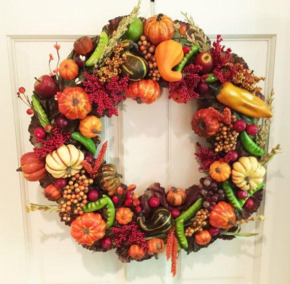 The 25+ best Elegant fall wreaths ideas on Pinterest ...
